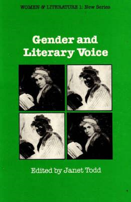 Gender and Literary Voice (BOK)