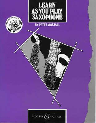 Learn as You Play Saxophone: Tutor Book (BOK)
