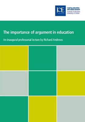 Importance of Argument in Education (BOK)