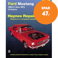Produktbilde for Ford Mustang V8 (July 64 - 73) (BOK)