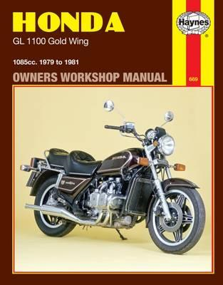 Honda GL1100 Gold Wing Owner's Workshop Manual (BOK)