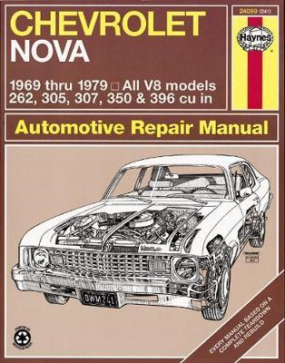 Chevrolet Nova 1969-79 Owner's Workshop Manual (BOK)