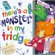 Produktbilde for There's a Monster in My Fridge (BOK)