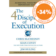 Produktbilde for 4 Disciplines of Execution - Getting Strategy Done (BOK)