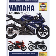 Yamaha YZF-R125 Service and Repair Manual (BOK)