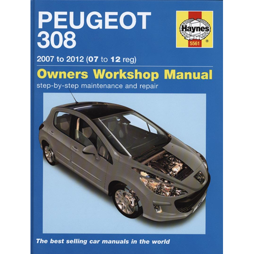 Peugeot 308 Service and Repair Manual (BOK)
