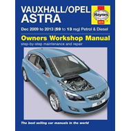 Vauxhall/Opel Astra Service and Repair Manual (BOK)
