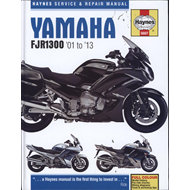 Yamaha FJR1300 Service and Repair Manual: 2001-2013 (BOK)