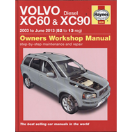 Volvo XC60 & XC90 Diesel Owners Workshop Manual (BOK)