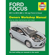 Ford Focus Petrol and Diesel Service and Repair Manual: 2011 - 2014 (BOK)