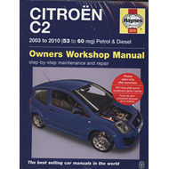 Citroen C2 Petrol and Diesel Owner's Workshop Manual (BOK)