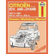 Citroen 2CV Owner's Workshop Manual (BOK)