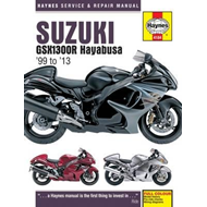 Suzuki GSX1300R Hayabusa Service and Repair Manual (BOK)
