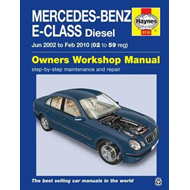Mercedes-Benz E-Class Diesel Service and Repair Manual (BOK)