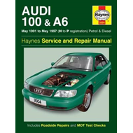 Audi 100 & A6 Owner's Workshop Manual (BOK)