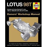 Lotus 98T Owners' Workshop Manual (BOK)