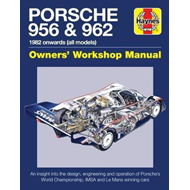 Porsche 956 and 962 Owners' Workshop Manual (BOK)