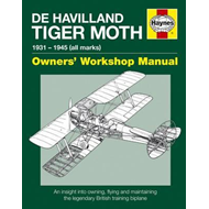 De Havilland Tiger Moth Manual Pb (BOK)