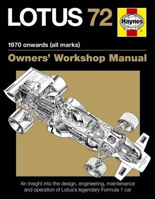 Lotus 72 Owner's Manual (BOK)
