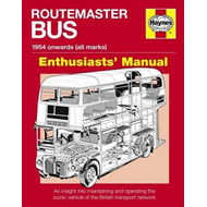 Routemaster Bus Owners' Workshop Manual (BOK)