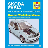Skoda Fabia Petrol & Diesel Owners Workshop Manual (BOK)