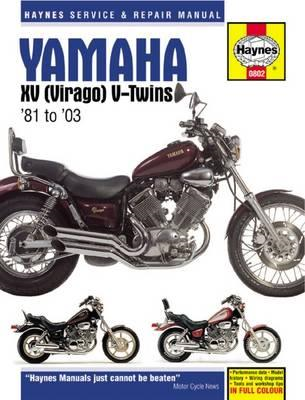 Yamaha XV Virago Service and Repair Manual (BOK)