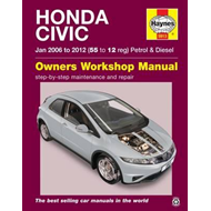 Honda Civic (Jan '06-'12) 55 To 12 (BOK)