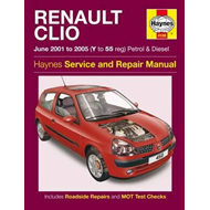 Renault Clio Service and Repair Manual (BOK)