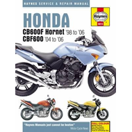 Honda CB600F Hornet Service and Repair Manual (BOK)