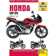 Honda CBF125 Service and Repair Manual (BOK)