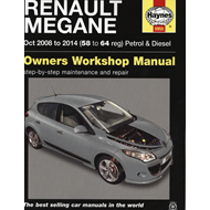 Renault Megane (Oct '08-'14) 58 To 64 (BOK)