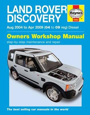 Land Rover Discovery Diesel Service and Repair Manual (BOK)