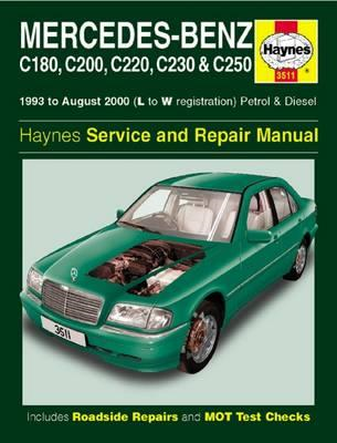 Mercedes-Benz C-Class Petrol & Diesel Service and Repair Man (BOK)