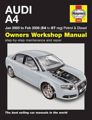 Audi A4 Service and Repair Manual (BOK)