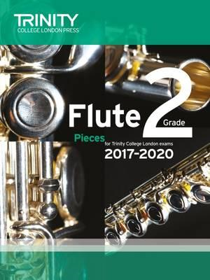 Flute Exam Pieces Grade 2 2017 2020 (Score & Part) (BOK)