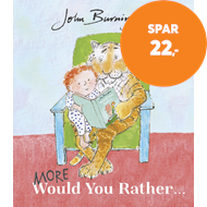 Produktbilde for More Would You Rather (BOK)