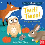 Produktbilde for Can You Say It Too? Twit! Twoo! (BOK)