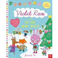 Violet Rose and the Very Snowy Winter Sticker Activity Book (BOK)