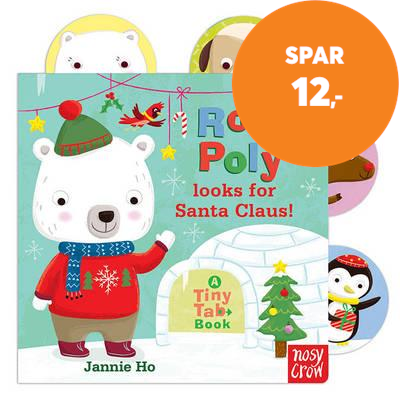 Tiny Tabs: Roly Poly looks for Santa Claus! (BOK)