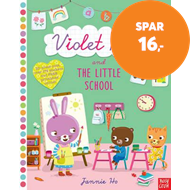 Produktbilde for Violet Rose and the Little School Sticker Activity Book (BOK)