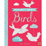 Press Out and Colour: Birds (BOK)