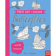 Press Out and Colour: Butterflies (BOK)