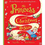 Produktbilde for Princess and the Christmas Rescue (BOK)