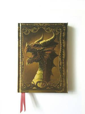 Dragon - Red (Foiled Journal) (BOK)