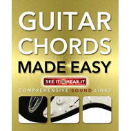 Guitar Chords Made Easy (BOK)