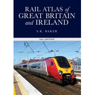 Rail Atlas of Great Britain and Ireland, (BOK)