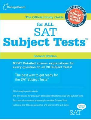 Official Study Guide for All SAT Subject Tests (BOK)