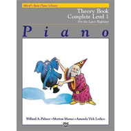 Alfred's Basic Piano Library Theory Complete, Bk 1 (BOK)