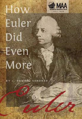 How Euler Did Even More (BOK)