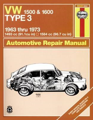 Volkswagen 1500/1600 Type 3 Owner's Workshop Manual (BOK)